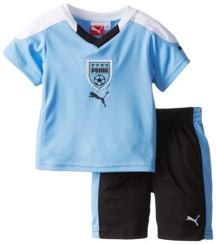 Puma - Kids Baby Boys Infant Soccer Perf Set, Little Boy Blue, 12 Months