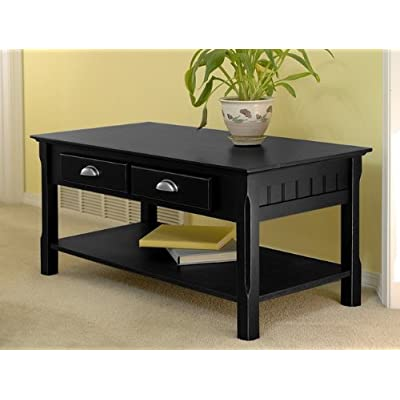 Coffee Tablesmission Black Coffee Table Sets Drawers Solid Wood Dining Tables