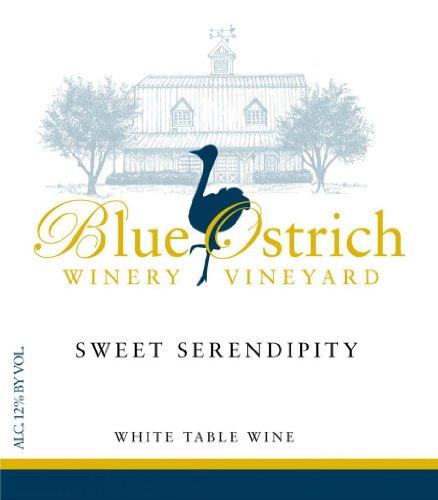 Nv Blue Ostrich Sweet Serendipity 750 Ml