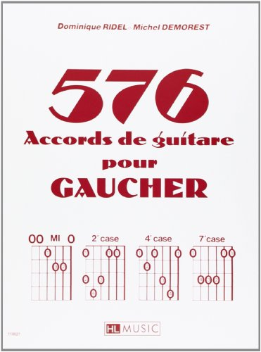 576 accords de guitare pour gaucher Reviews
