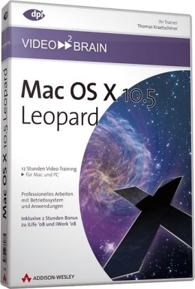 Mac OS X 10.5 Leopard - Video-Training (DVD-ROM)