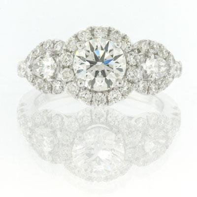 2.36ct Round Brilliant Cut Diamond Engagement
