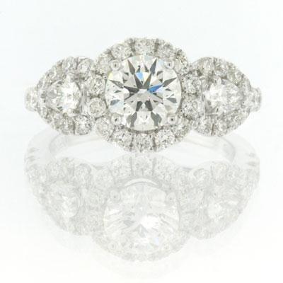 2.36ct Round Brilliant Cut Diamond Engagement