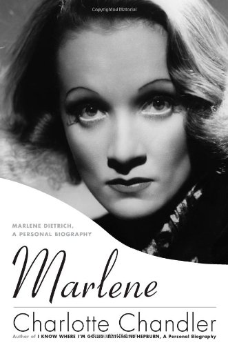 Image for Marlene: Marlene Dietrich, A Personal Biography