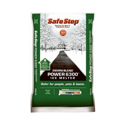 Safe Step Ice Melter Bag Melts Ice Down To - 10 F / - 23 C 10 Lbs.