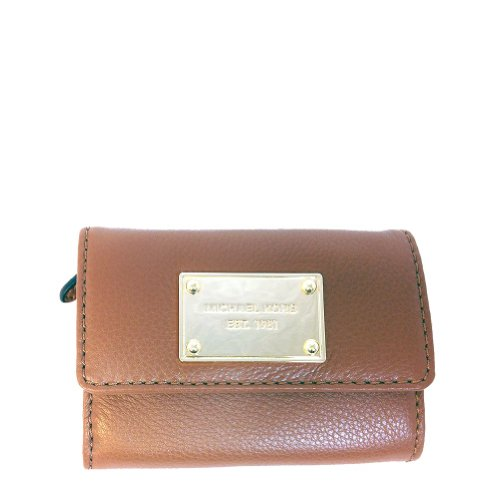 Michael Michael Kors Flap Coin Purse Wallet - Luggage