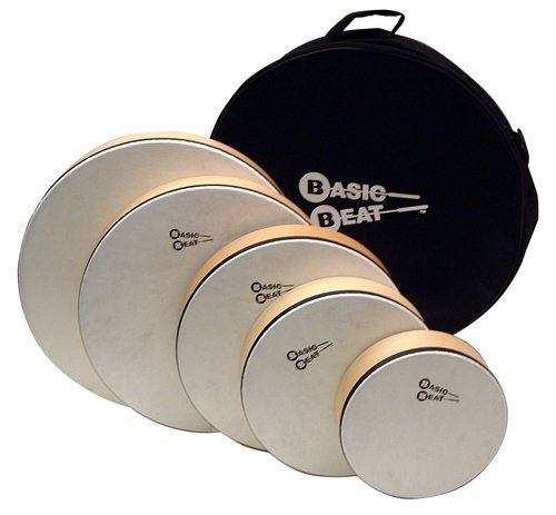 basic-beat-set-of-5-pretuned-hand-drums-with-bag-by-basic-beat