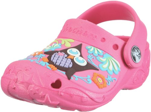 Skechers Kids Lovevines Lil Hoots Mules And Clogs Sandal