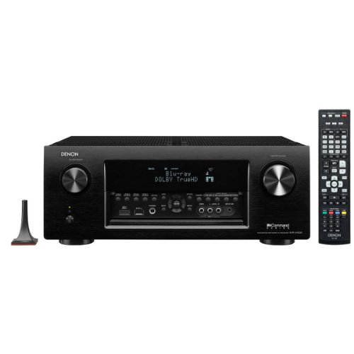 Denon Avr-X4000P   7.2 Channel 4K Ultra Hd Networking Receiver With Airplay & Multi-Zone Video