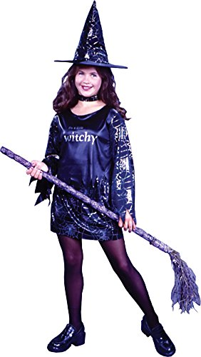 Girls - Little Witchy Child Lg Halloween Costume - Child Large