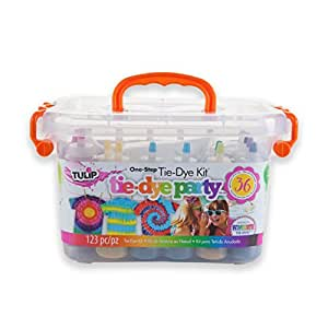 Tulip One Step Tie Dye Big Box Kit Pool Party Amazon In