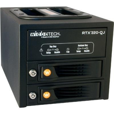 RTX220-QJ, 2-BAY Trayfree Drive Enclosure, Jbod, FW800/FW400/ESATA/USB2, 2TB, Fo