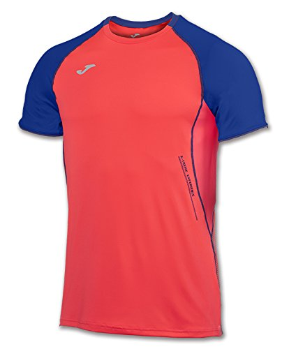 JOMA OLIMPIA FLASH T-SHIRT CORAL FLUOR S