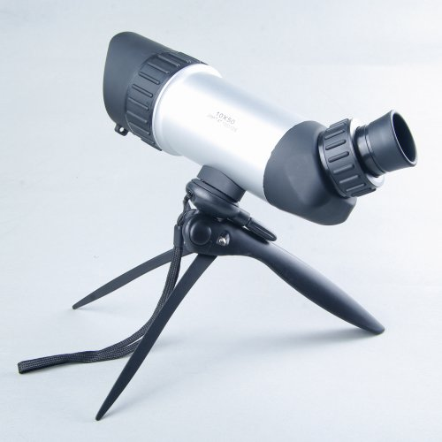 Nuoya001 10X50 Spotting Double-Focusing Hand-Held Telescope/Bird Mirror (Include A Cycling Reflective Band As Gift)