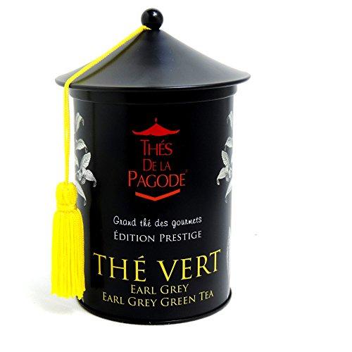 Thés De La Pagode - Gourmet Teas - Thé Vert Earl Grey - 100g
