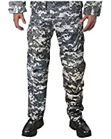 Subdued Urban Digital Camouflage Military BDU Fatigue Pants (Polyester/cotton)