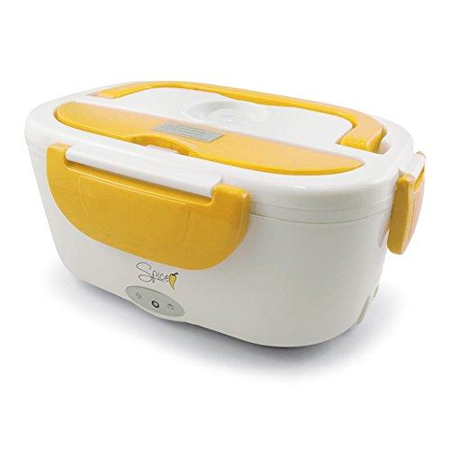 Spice - Amarillo Scaldavivande Elettrico Portatile Schiscetta Box Portavivande Termico