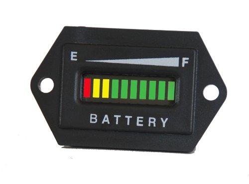 Pro48Frcx 48 Volt Battery Gauge, Status Indicator W/Relay Output - Golf Cart