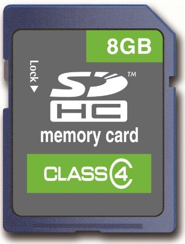 Memzi 8Gb Class 4 Sdhc Memory Card For Bushnell Trail Surveillance Series Digital Cameras