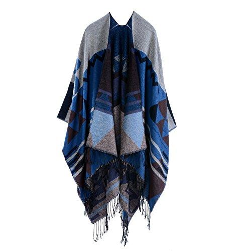 anself-women-bohemia-long-cape-geometric-pattern-oversized-knitted-shawl-poncho