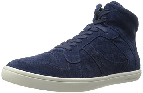 BOSS Orange by Hugo Boss Men's Soundop Fashion Sneaker, Dark Blue, 11 M US