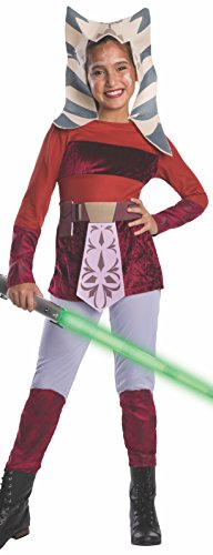 Star Wars Clone Wars Child's Ahsoka Costume, Medium