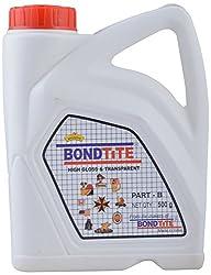 BondTite Resinova -High Gloss & Transparent- Part B (500 grams)