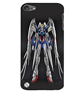 APPLE IPOD TOUCH 5 ROBO Back Cover by PRINTSWAG