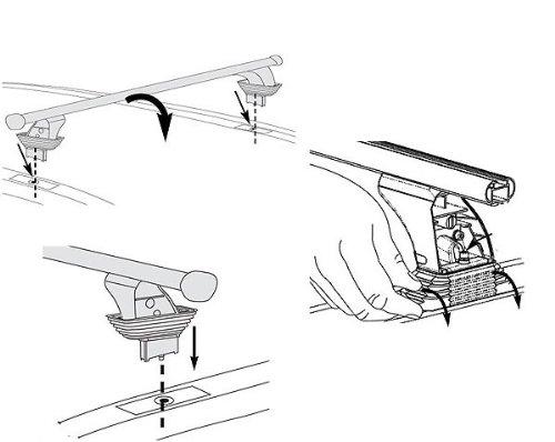 Aurilis Original Dachträger AUR1455 NEU