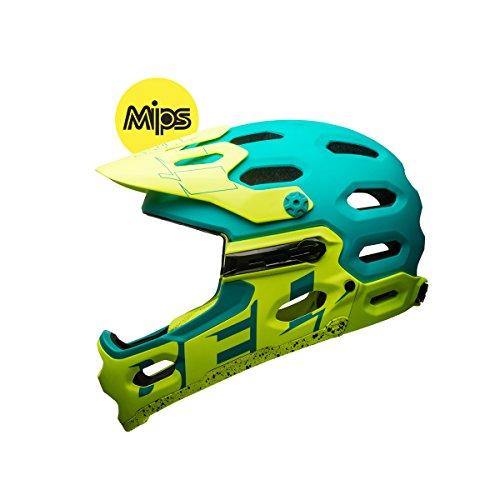 bell-super-3r-mips-downhillhelm-matt-emerald-petrol-retina-sear-gelb-m-55-59cm