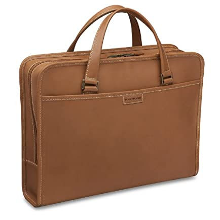 Hartmann Belting Leather File Zip Briefcase