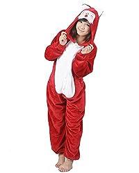 SAMGU Adult Unisex For Women Men Flannel Animal Pajamas Kigurumi Onesie Cosplay Costume Long Sleepwear Nightwear Suit