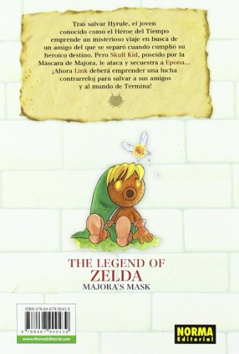 The Legend of Zelda 03. MajoraŽs Mask (CÓMIC MANGA)