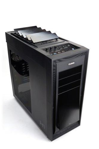 ZALMAN ATX FULL TOWER Case H1 自動ベントシステム搭載ハイエンドPCケース 日本正規代理店品 CS4550 ZM-H1