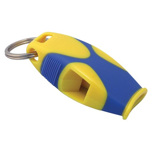 Fox 40 Sharx Whistle with Lanyard, Yellow/Blue Picture