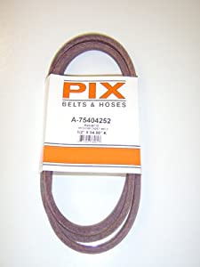 754-04252, 954-04252, Replacement belt made with Kevlar. For MTD, Cub Cadet, Troy Bilt, White, YardMan, Huskee from MTD