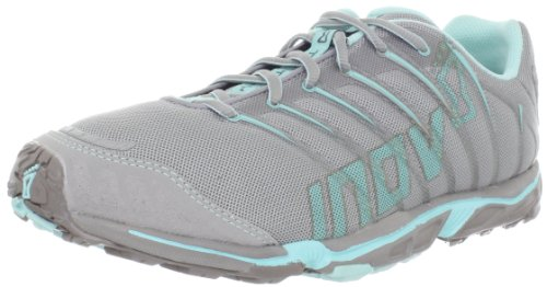 Inov-8 Women's Terrafly 277 Trail Running Shoe,Grey/Aqua,6.5 M US