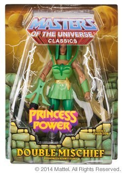She-Ra Princess of Power Classics Exclusive Figure Double Mischief by Mattel