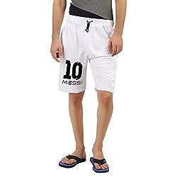 Hotfits white graphic shorts