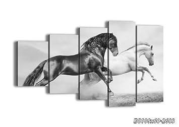 4 impression sur toile 100x60 cm image sur toile 5 parties encadr e prete a. Black Bedroom Furniture Sets. Home Design Ideas