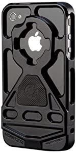 Rokform RokBed v3 Apple iPhone 4/4S Protective Case and Flat Surface Mount RMS (Black)