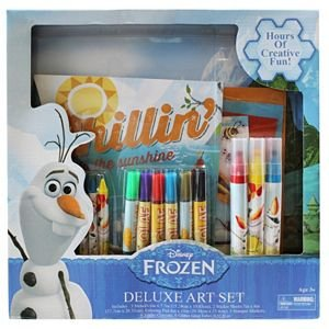 Disneys Frozen Olaf Deluxe Art Set