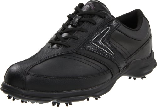 Callaway Men's C Tech Saddle M162-02 Golf Shoe,Black/Black,7