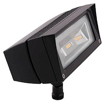 rab ffled18y 18 watt led landscape lighting flood light. Black Bedroom Furniture Sets. Home Design Ideas