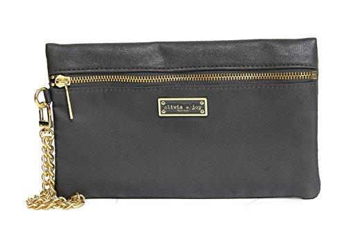 olivia-joy-womens-designer-handbags-zoom-zoom-faux-leather-wristlet-clutch-wallet-graphite-gray-grey