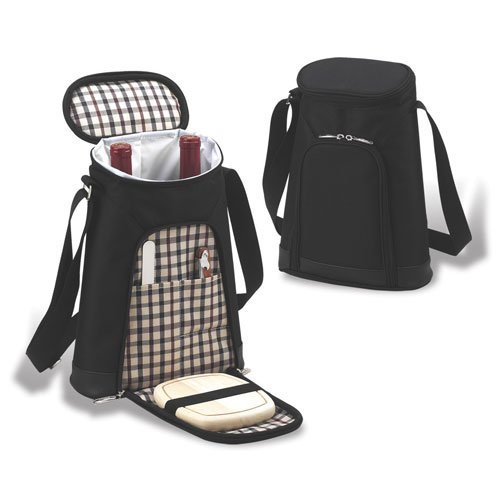 Buy Picnic at Ascot London 2 Bottle Tote and Cheese Set