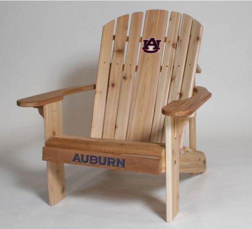 Auburn Logo Adirondack Chair 23 inch Seat Width 23 inch Seat Width