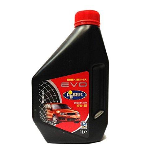 LUBEX 1Lt Olio 4T a base minerale EVO 15W-40 ottimo x motori a Benzina API SFCD
