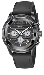 Breil TW1078 - Reloj analógico de cuarzo para hombre, correa de silicona color negro