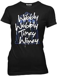 Doctor Who Wibbly Wobbly Timey Wimey…